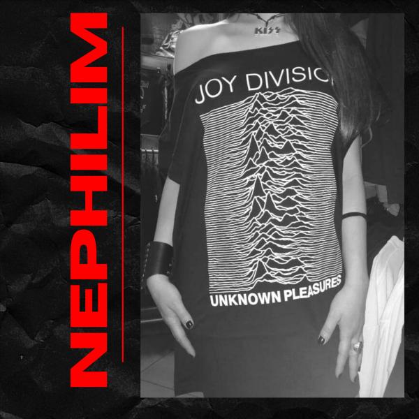 JOY DIVISION-UNKNOWN PLEASURES-TSHIRT DRESS