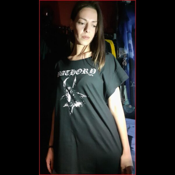 BATHORY-GOAT tshirt dress