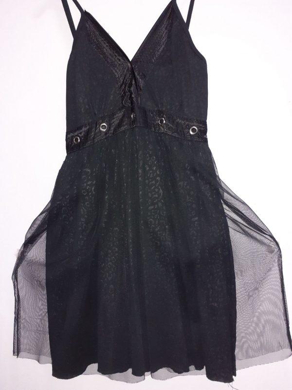 DRESS poizen black