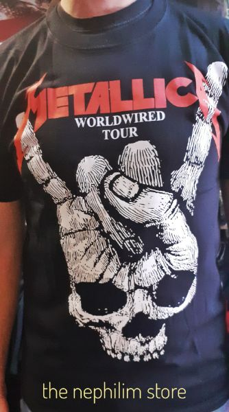 metallica wired