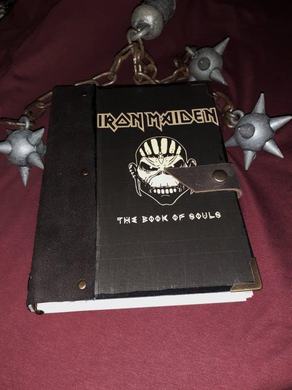 IRON MAIDEN-BOS-notebook