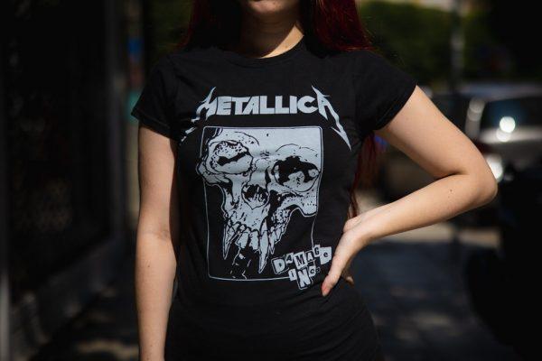 Metallica-damage inc girlie