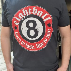 eightball-born to lose live to win tshirt