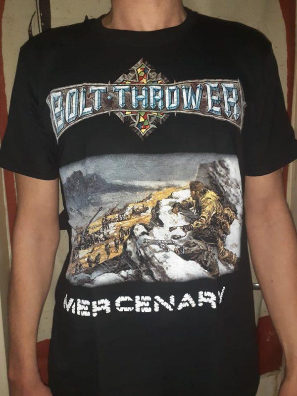 bolt thrower-mercenary tshirt