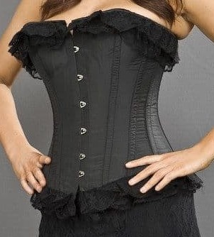 dita corset black