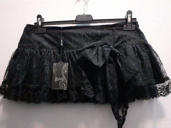 skirt lace woman black