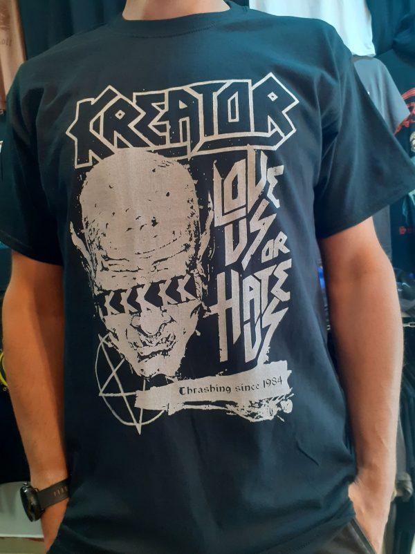 kreator-love us or hate us thrasing since 1984