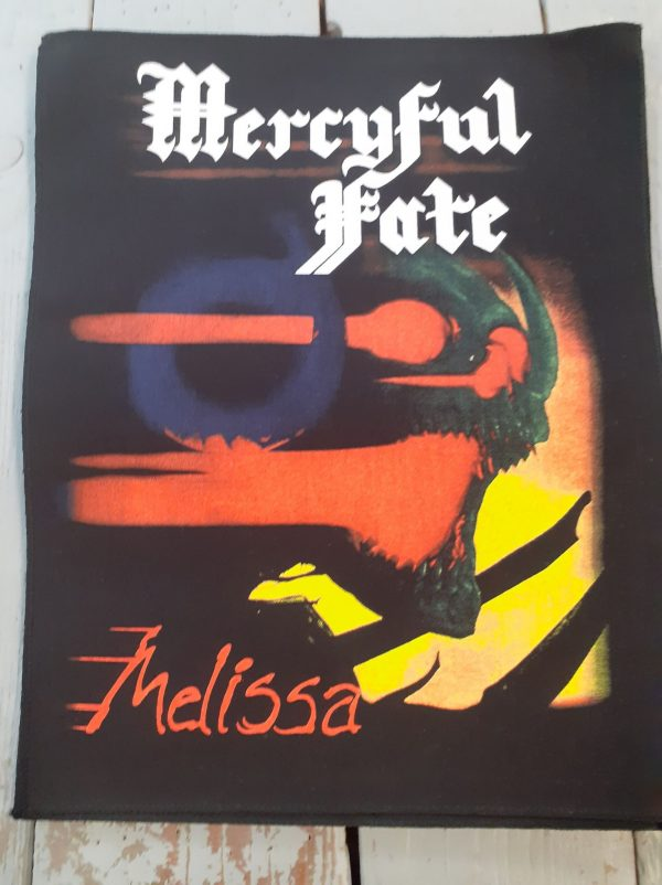 mercyful fate-melissa backpatch
