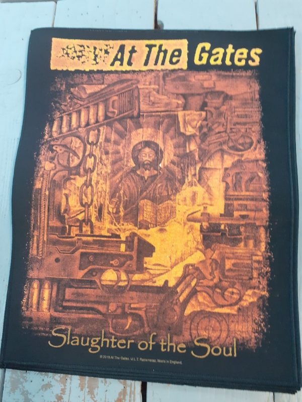 at the gates-slaughter of the soul backpatch
