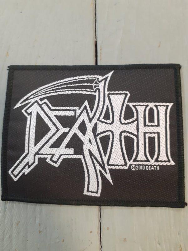 death-logo patch