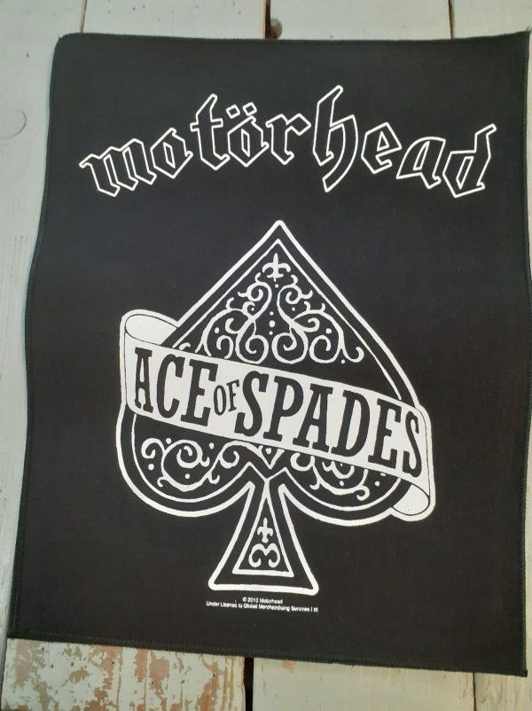 motorhead-ace of spades backpatch