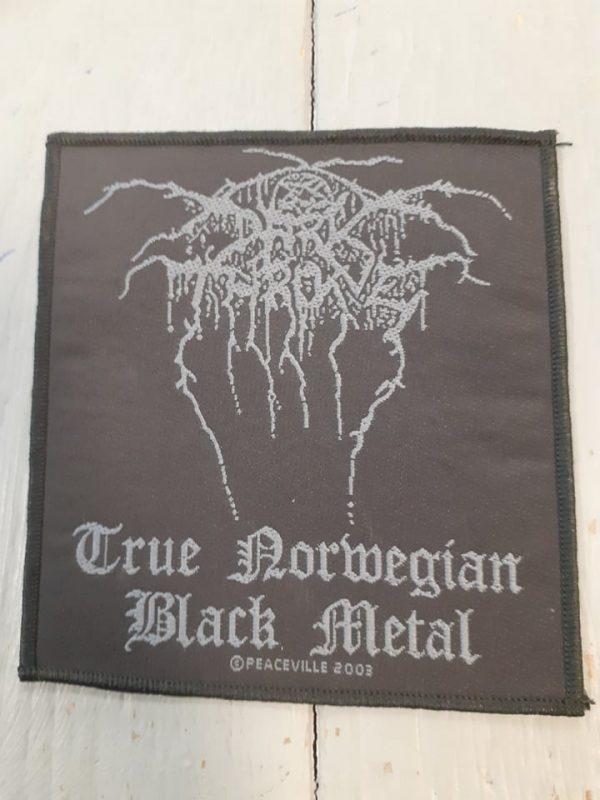 darkthrone-true norwerian black metal patch