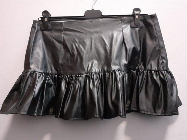 skirt leatherette