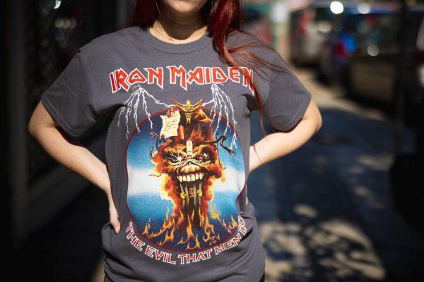 iron maiden-the evil that men do girlie