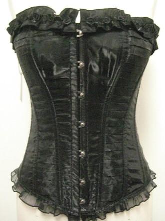 living dead souls corset black