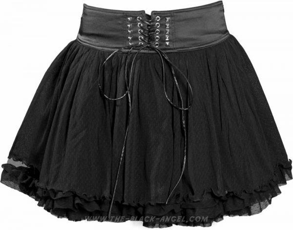 skirt Heartbeat short black