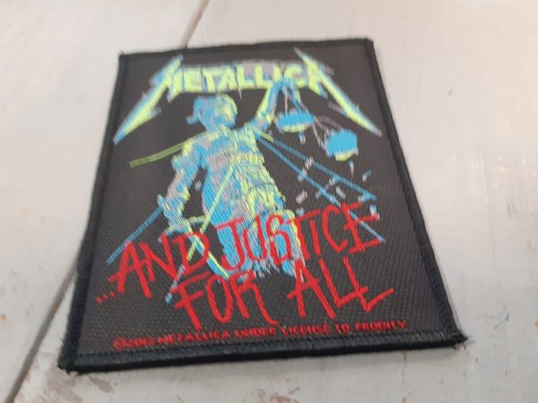 metallica-justice for all patch