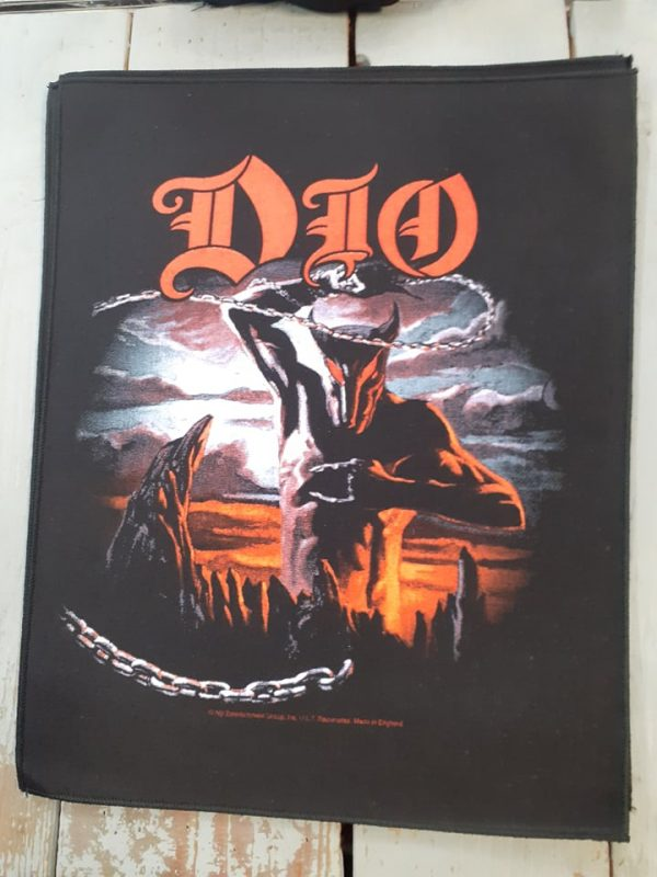 Dio-holy diver backpatch