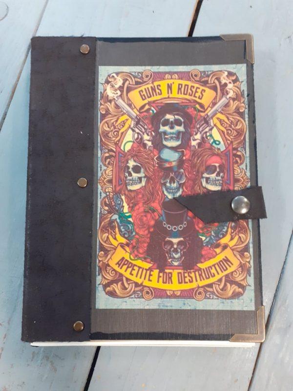 guns n roses-notebook