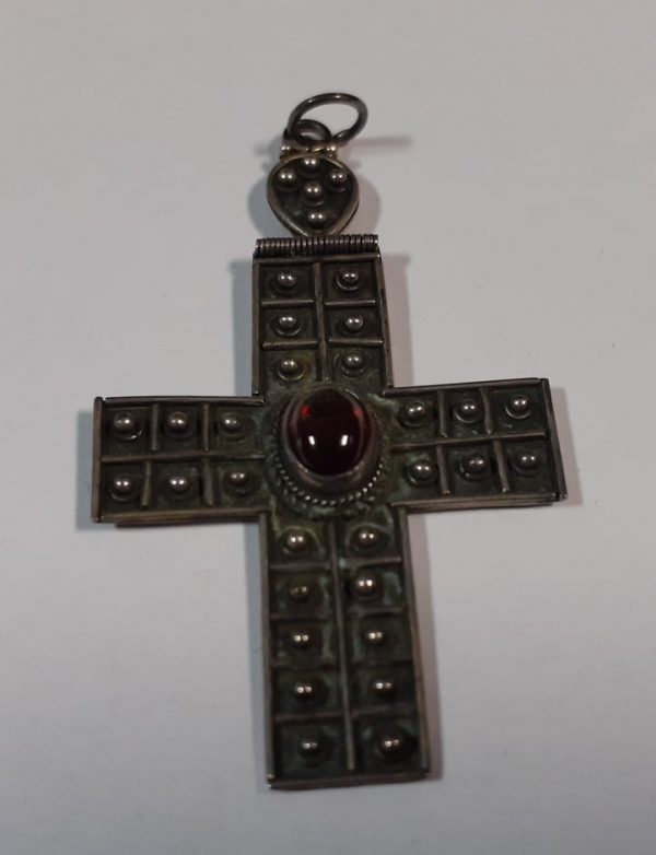 cross red necklace