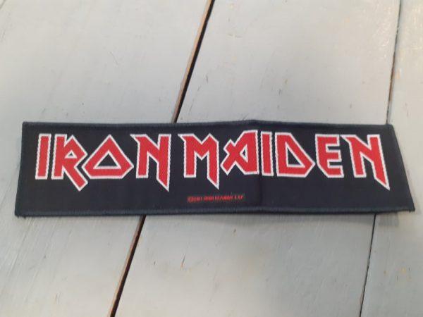 iron maiden-logo stripe