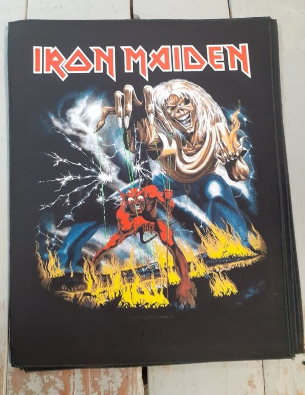 iron maiden-the number of the beast backpatch