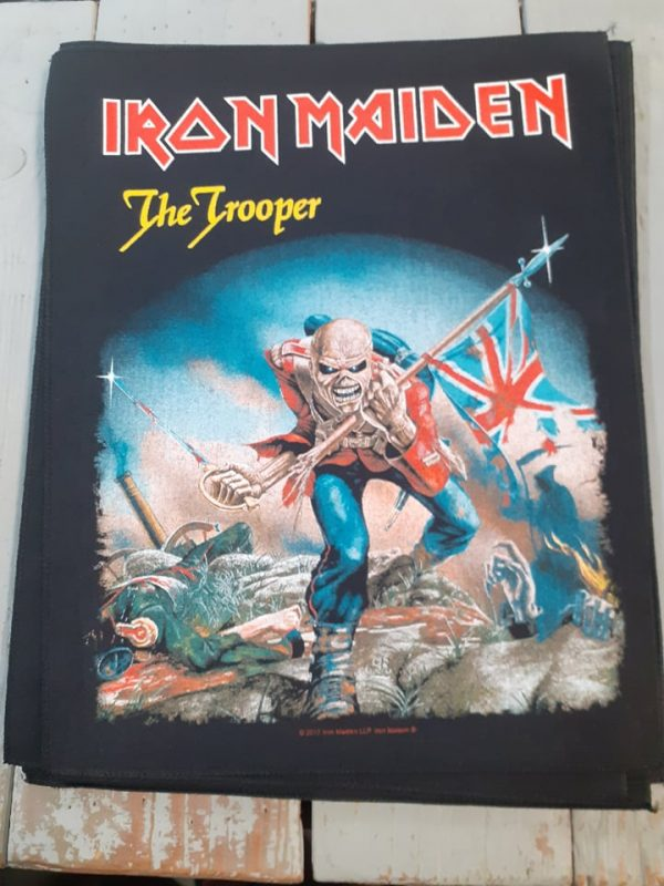 iron maiden-the trooper backpatch