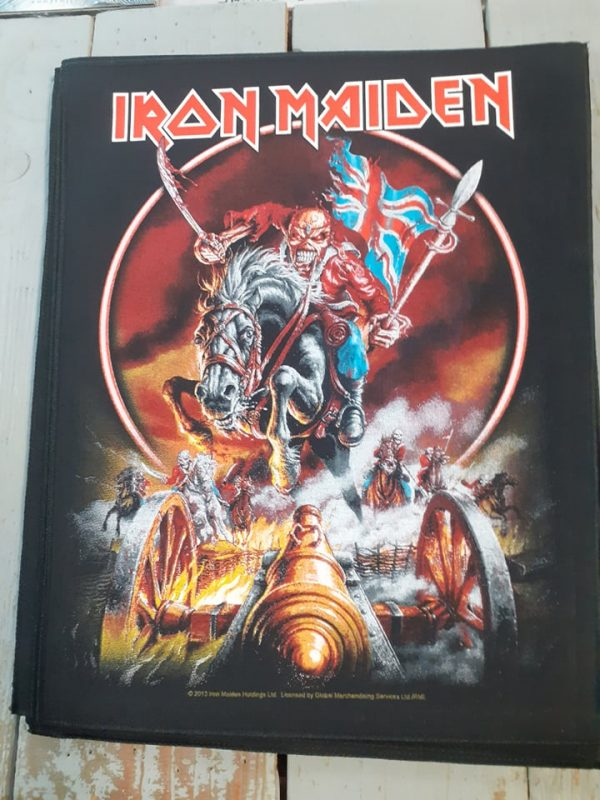 iron maiden-maiden england backpatch