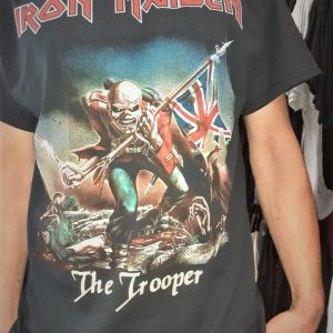 iron maiden the trooper mens