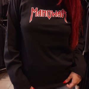 manowar logo long sleeve