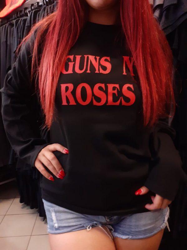 guns n roses long sleeve logo