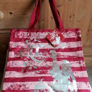 Evanescence The Open Door Red Fabric Tote Shopping Bag