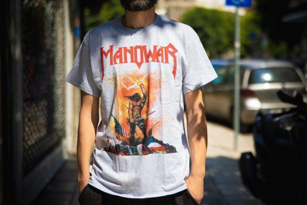 manowar kings of metal grey