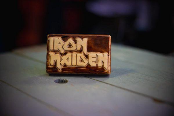 iron maiden bottle opener