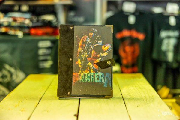 pantera notebook band