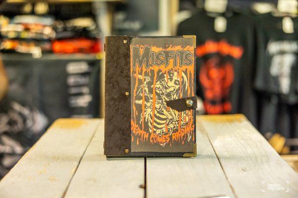 misfits notebook new skull