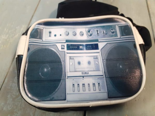 ladies small bag cassette player