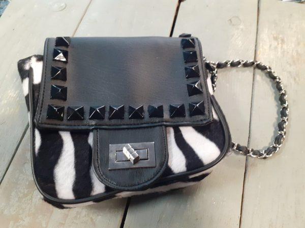 ladies bag zebra
