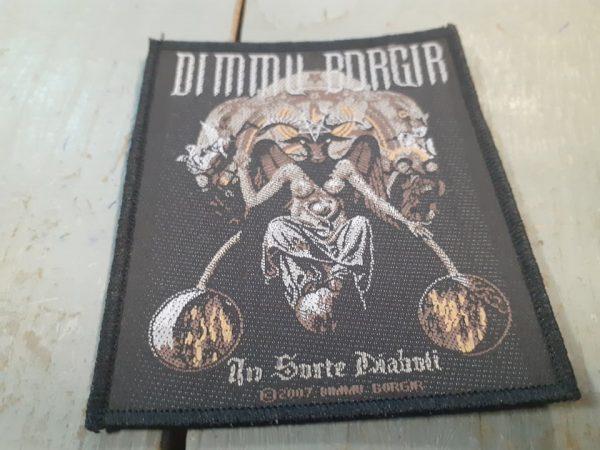 DIMMU BORGIR IN SORTE DIABOLI PATCH