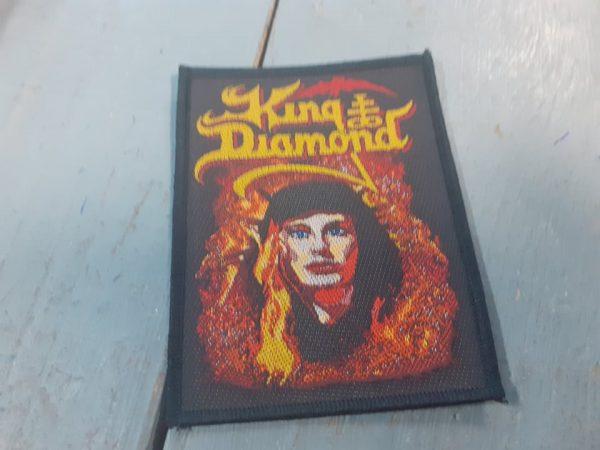 KING DIAMOND FATAL POTRAIT PATCH