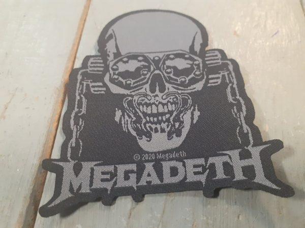 MEGADETH SKULL PATCH