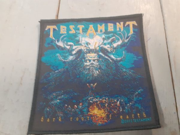 TESTAMENT DARK ROOTS OF THE EARTH PATCH