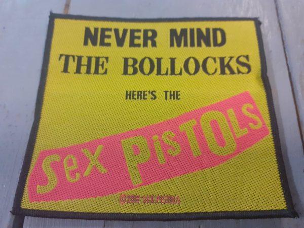 SEX PISTOLS NEVER MIND PATCH