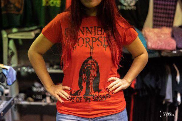 CANNIBAL CORPSE CODE OF THE SLASHERS GIRLIE
