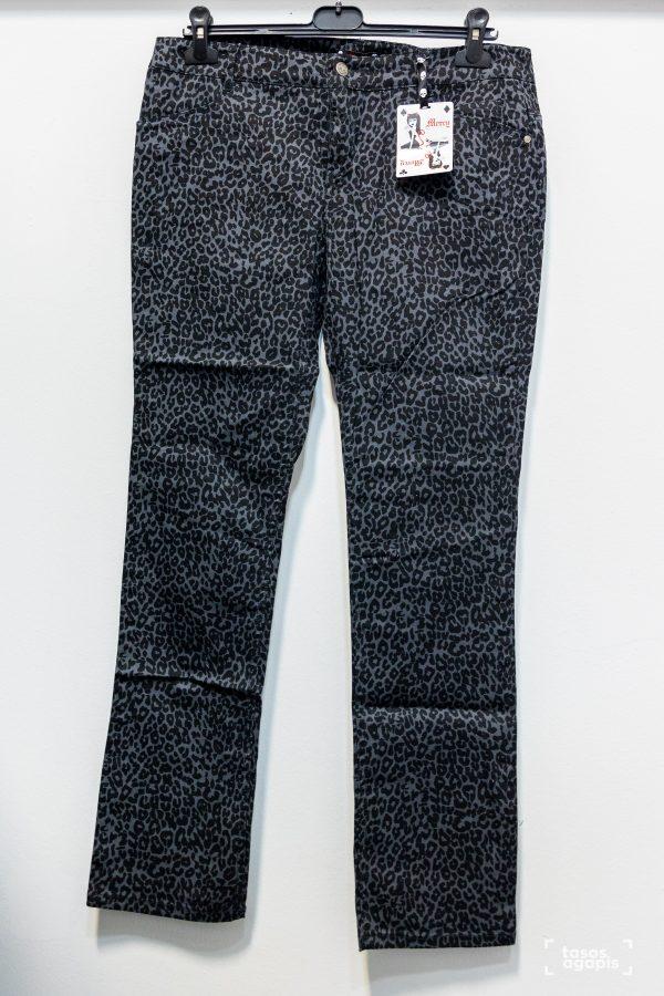 mercy trousers black leopard