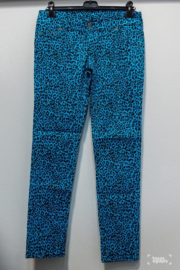 Aqua trousers leopard